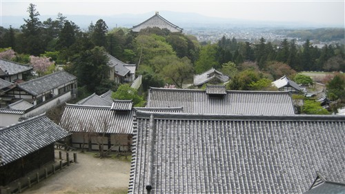 107 Rooftops and Nara plains seen from the veranda of Nigatsu-do Hall.jpg