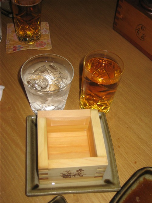 211 The trifecta - beer, sake and shochu.jpg