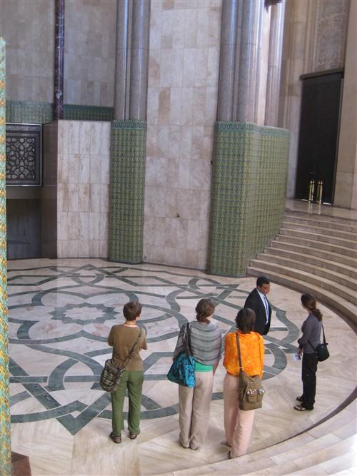 085 Marble floor with lotus symbol of purity.jpg