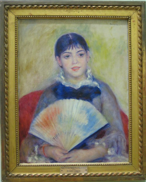 044 Young Woman with a fan - Renoir.jpg